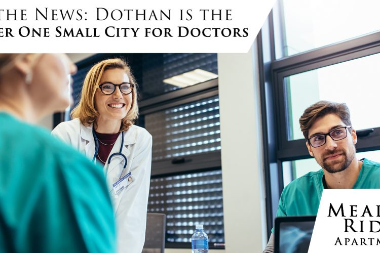 In the News: Dothan is the Number One Small City for Doctors