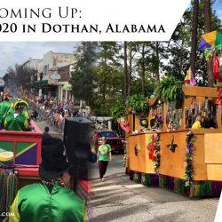 Mardi Gras in 2020 in Dothan, Alabama
