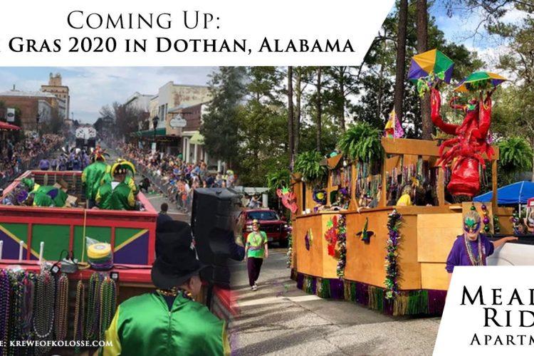 Coming Up: Mardi Gras 2020 in Dothan, Alabama
