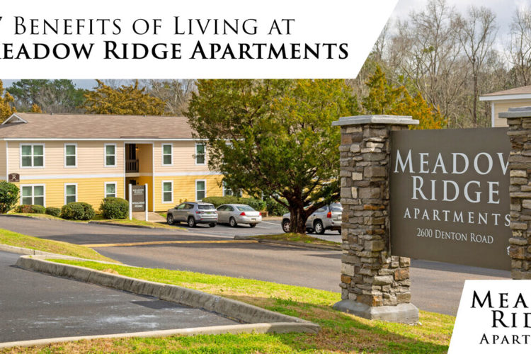 7 Benefits of Living at Meadow Ridge Apartments