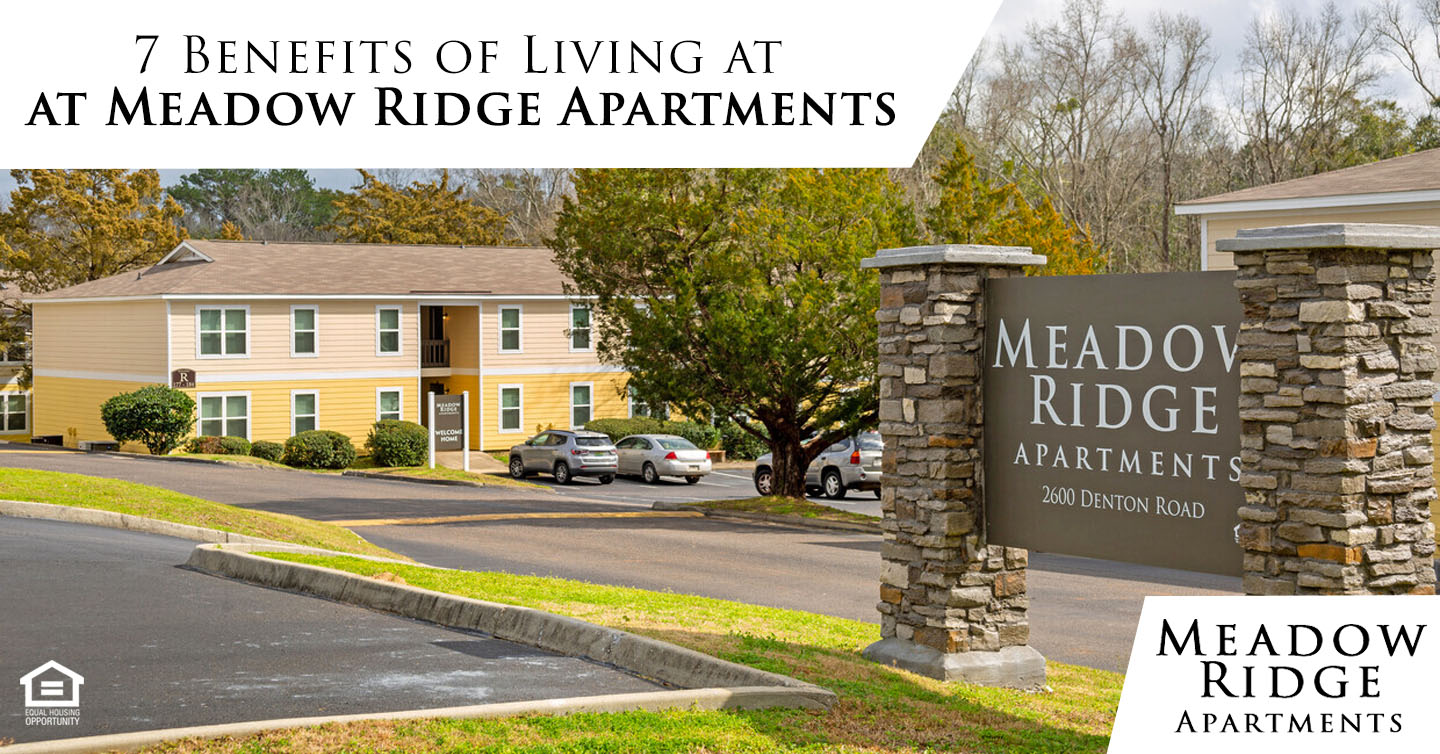 Benefits of Living at Meadow Ridge Apartments