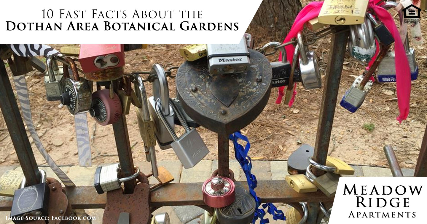 facts about the Dothan Area Botanical Gardens