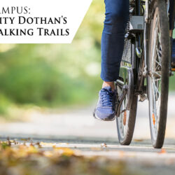 Troy University Dothan's Biking and Walking Trails