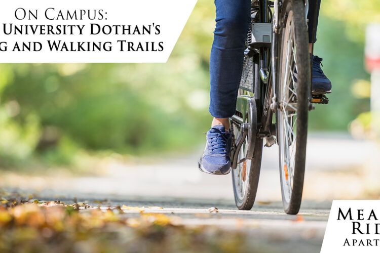 On Campus: Troy University Dothan's Biking and Walking Trails
