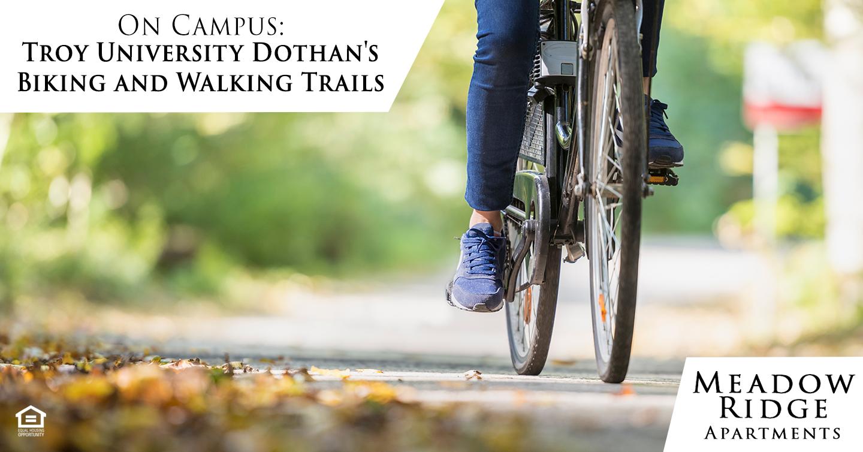 Troy University Dothan's Biking and Walking Trails
